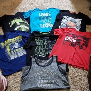 Lot of Boys Sport T-Shirts